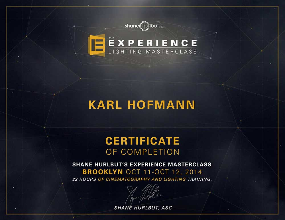 HOFMANN_certificate